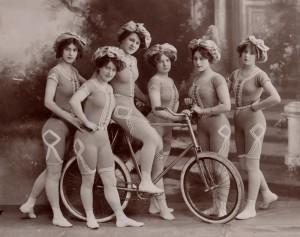 Babes on Bikes!